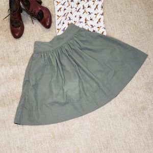 Anthropologie Edme & Esyllte Corduroy Skirt